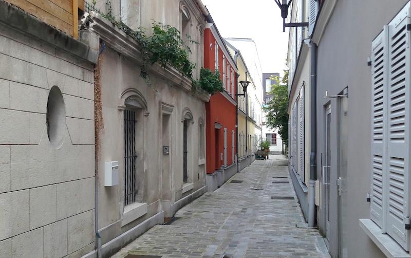impasse rue vignoles