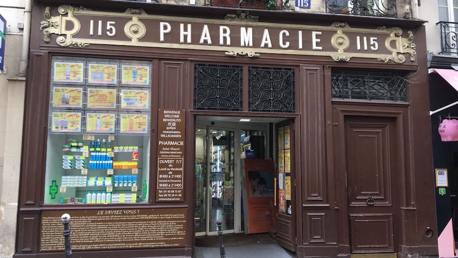plus vieille pharmacie de paris