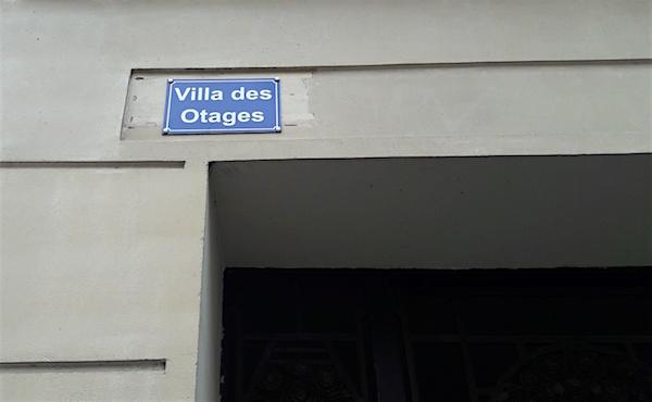 villa des otages rue haxo
