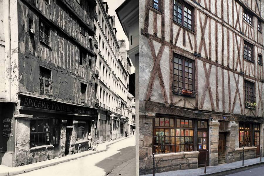 En 1950 et aujourd'hui