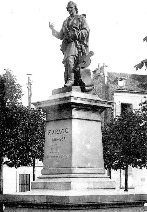 ancienne statue arago