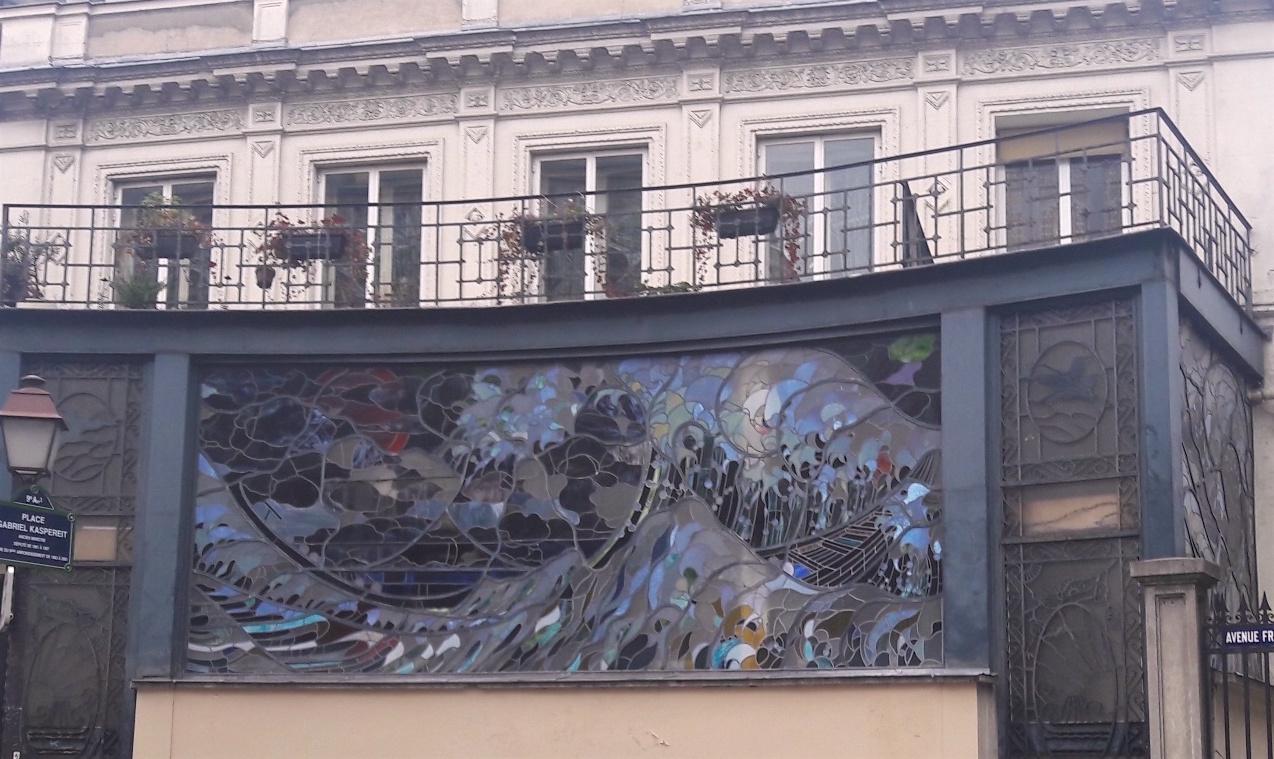 vitrail rue frochot paris 9