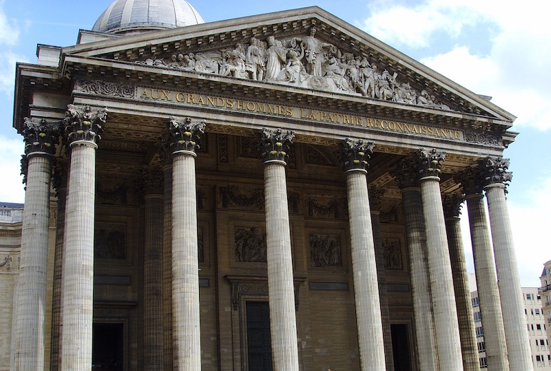 pantheon fronton