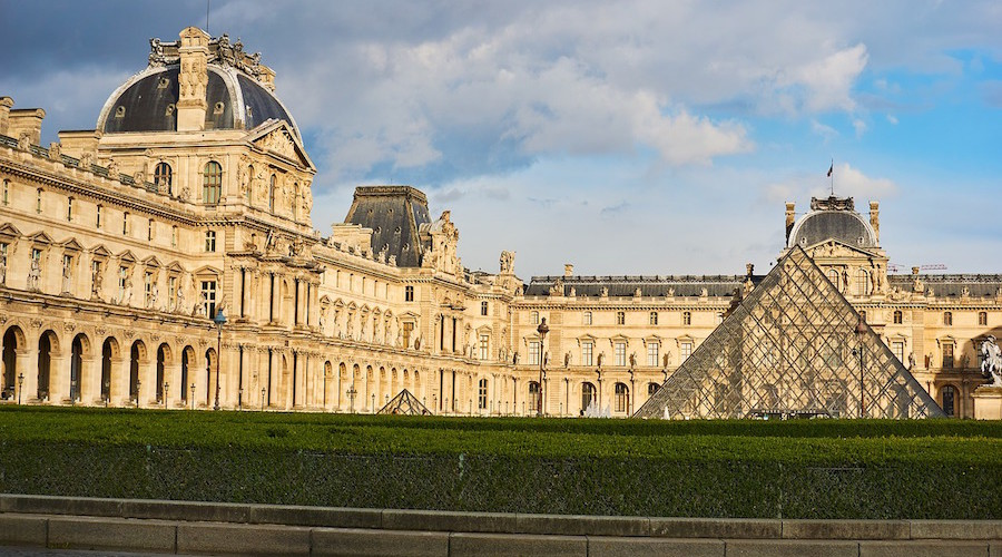 The origin of the name Louvre