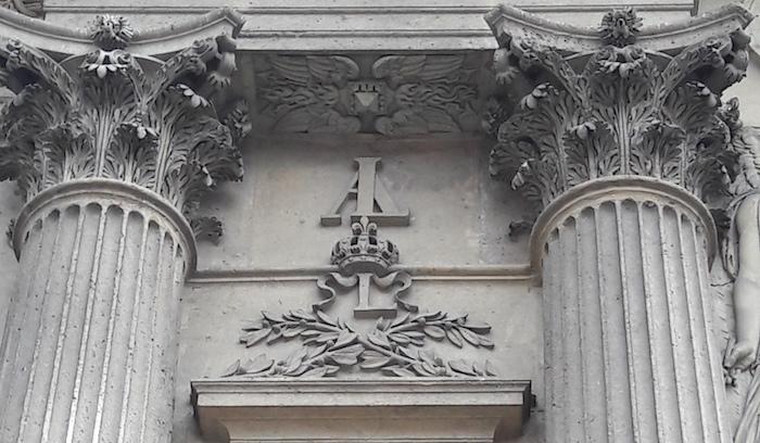 monogramme louis 13 cour carree