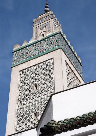 minaret mosquee de paris