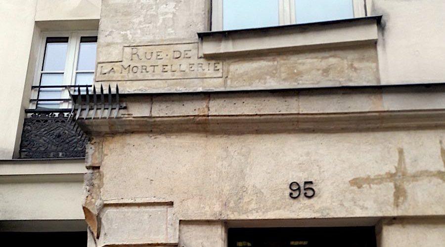 The tragic fate of the old rue de la Mortellerie (today rue de l'Hôtel de Ville)