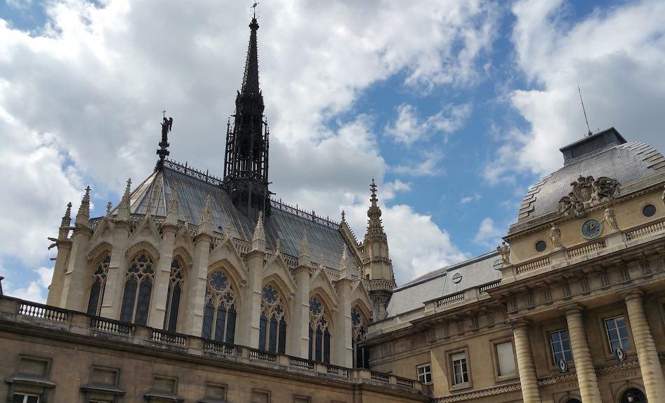sainte chapelle architecture medievale