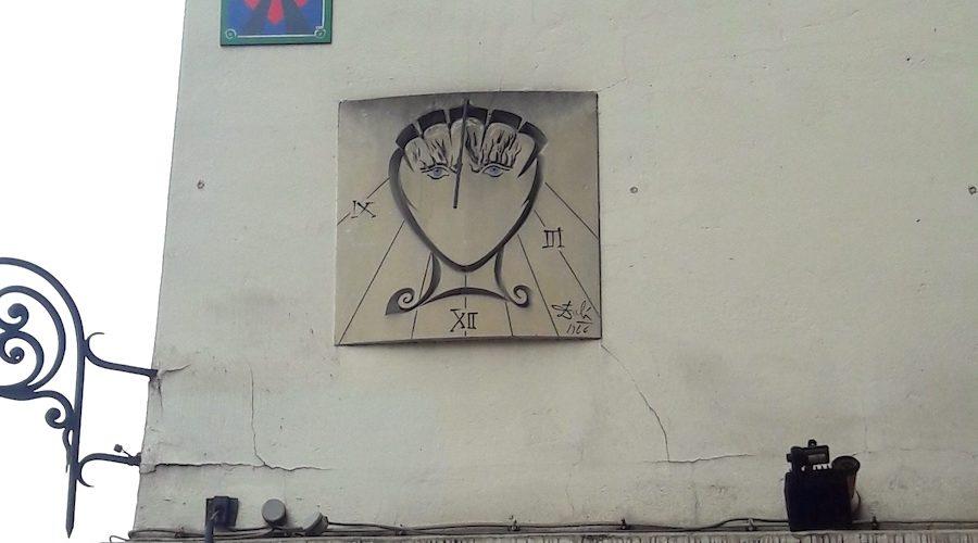 Le cadran solaire de Salvador Dalí