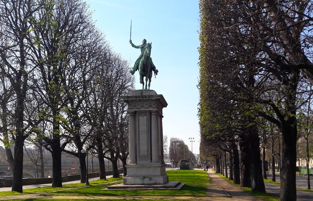 statue lafayette paris