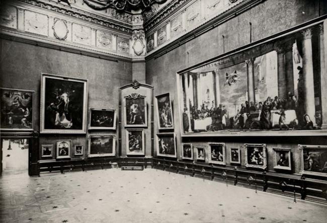 salon carre 1909