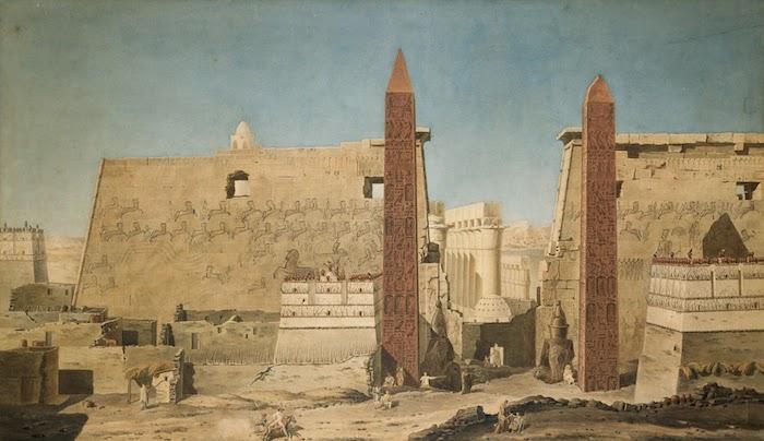 deux obelisques louxor
