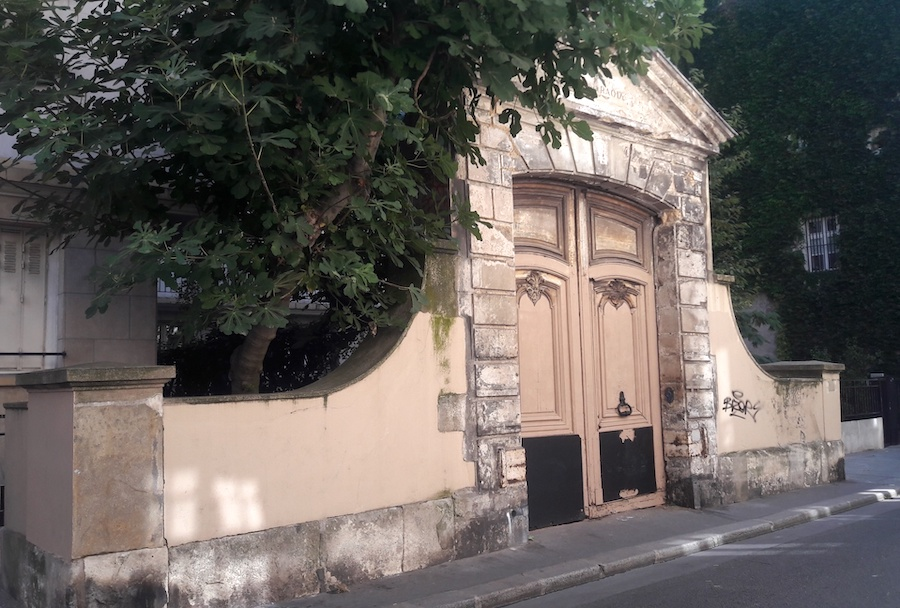 portail rue beautreillis