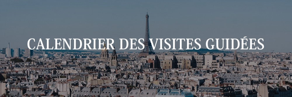 calendrier visites guidees