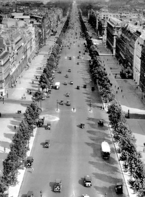 champs elysées 1929