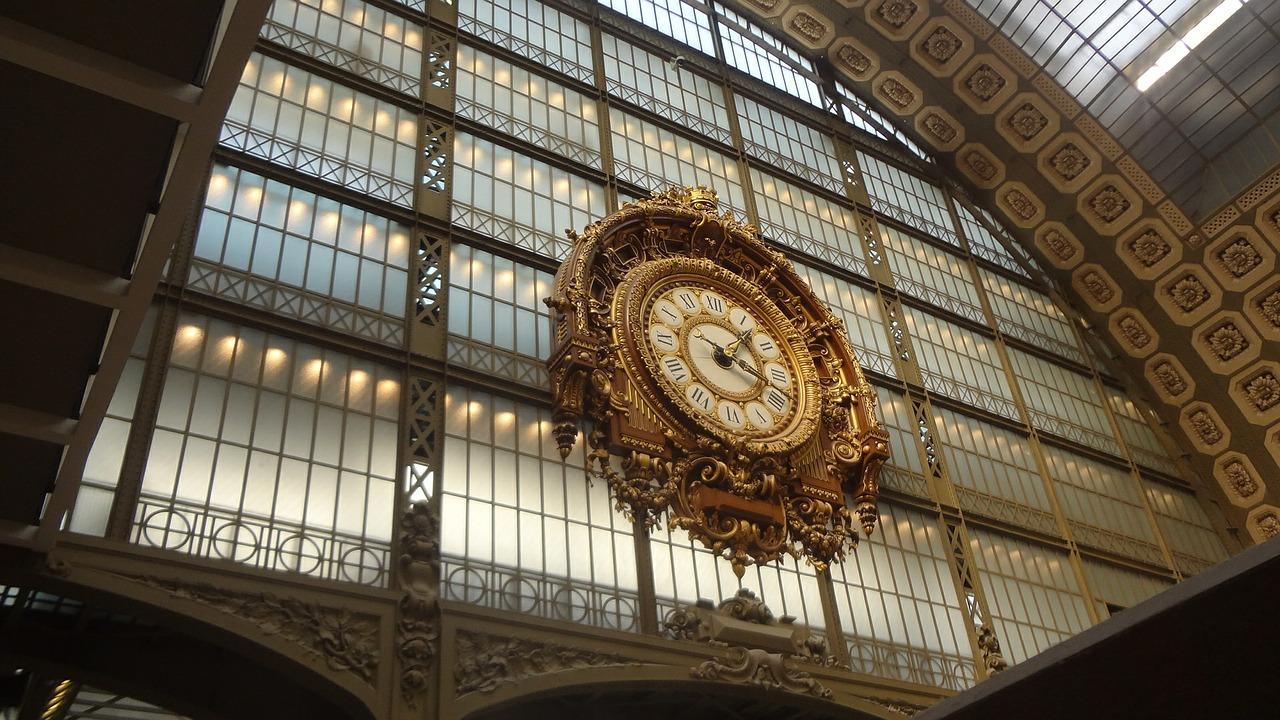 horloge musee orsay
