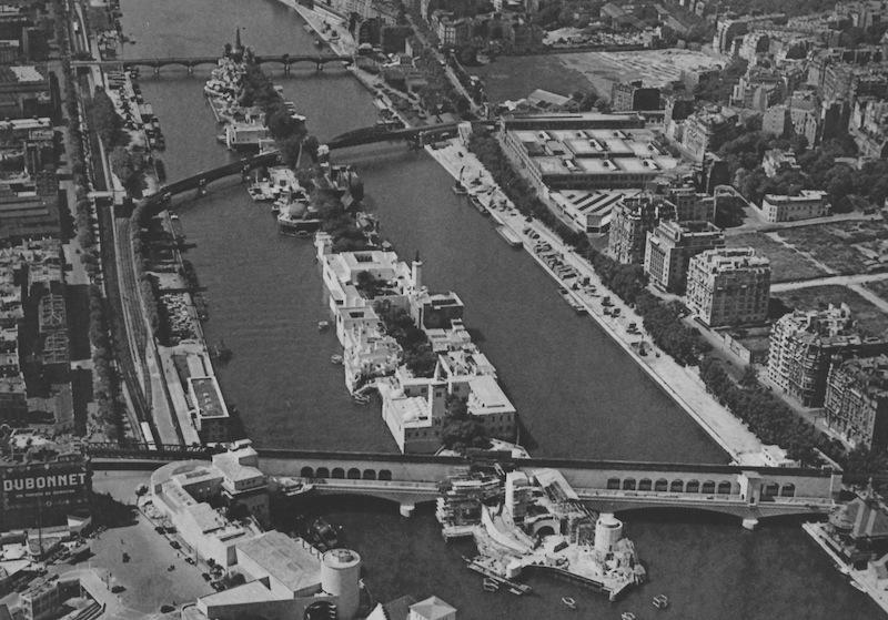 centre des colonies ile aux cygnes 1937