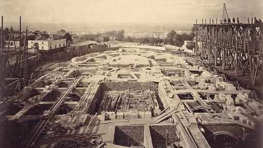 construction sacre coeur fondations