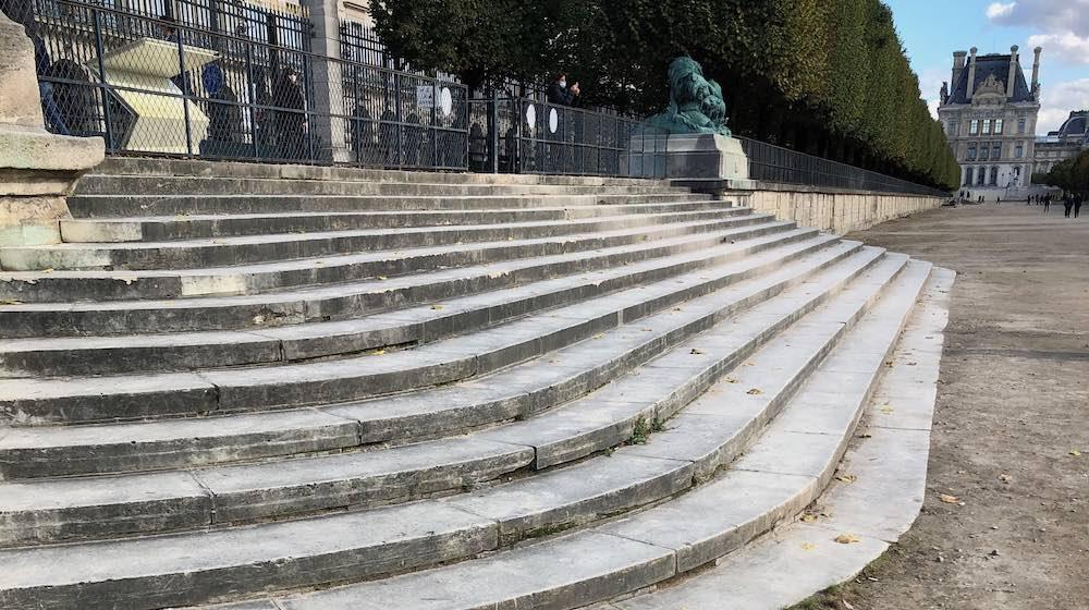 escalier des feuillants tuileries