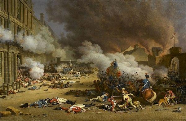 tableau prise des tuileries aout 1792