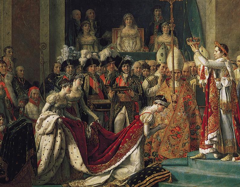 Le Sacre de Napoléon detail
