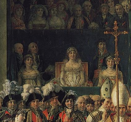 Sacre de Napoléon detail