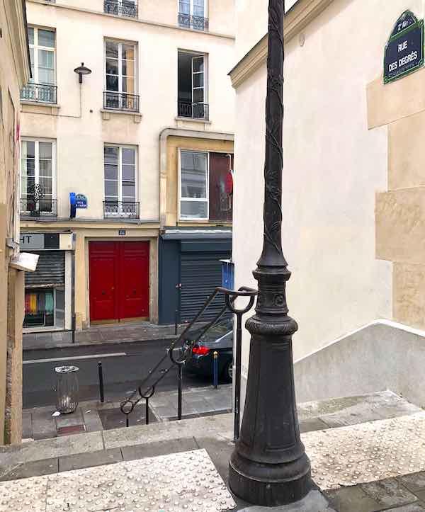 rue des degres rue insolite