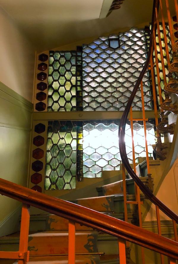 castel beranger escalier decor